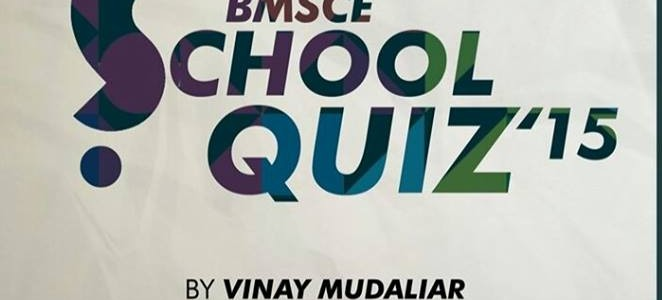 BMSCE School Quiz